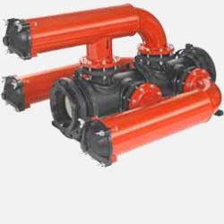 жидкостный фильтр / с сеткой для Amiad Water Systems - жидкостный фильтр / с сеткой для мультиплексирования / линейный / низкое
