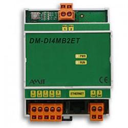 преобразователь Ethernet / M-Bus AMiT, spol. s r.o. - преобразователь Ethernet / M-Bus / на DIN-рейке