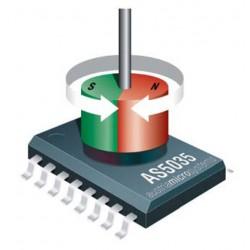 инкрементальный датчик угла пово ams AG - инкрементальный датчик угла поворота / со сплошным валом