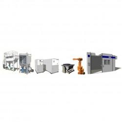 термический проекционный аппарат AMT AG - термический проекционный аппарат / автоматический / для покрытия / многозадачный