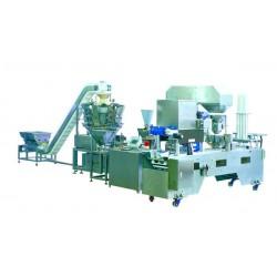 автоматическая наполнительная /  AMTEC Packaging Machines - автоматическая наполнительная / упаковочная машина / линейная / для