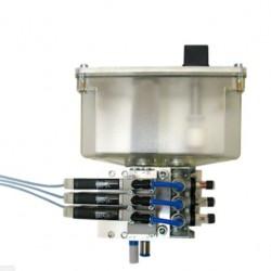 насос для смазки / с пневмоприво AMTRU - насос для смазки / с пневмоприводом / поршневый / для станка